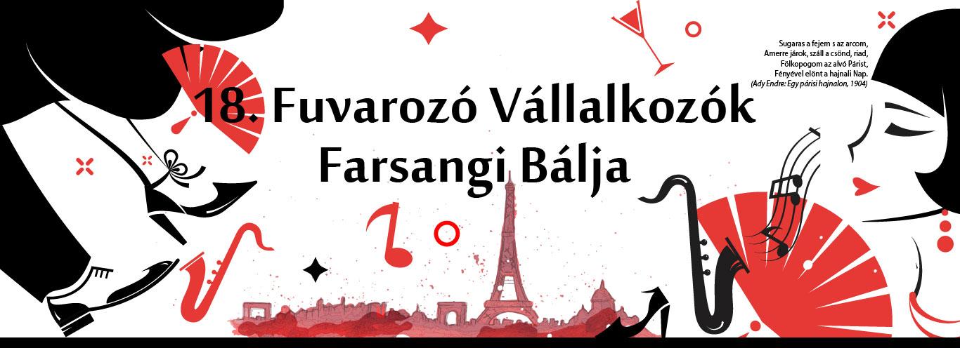 18. Fuvarozó Vállalkozók Farsangi Bálja